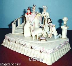 Lenox Disney A Princess Is Found Cinderella Parade Float Sculpture New in Box