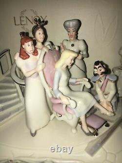 Lenox Disney A Princess is Found Cinderella Parade Float Stepsisters Footman
