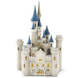 Lenox Disney Princess Cinderella's Castle Lighted Figurine Disney World Land NEW