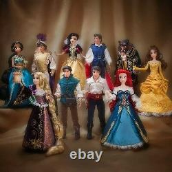 Lot of 3 Sets Disney Fairytale Designer Collection Doll LE
