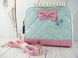 Loungefly Cinderella Pearl Crossbody Handbag NWT