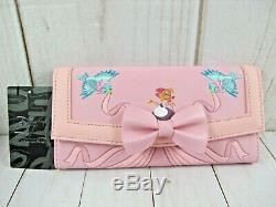 Loungefly Cinderella Pearl Crossbody Handbag & Wallet NWT
