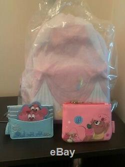 Loungefly Disney Cinderella 70th Anniversary Mini Backpack, Coin & Cardholder