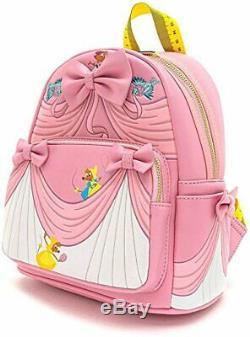 Loungefly Disney Cinderella Dress 80th Anniversary Movie Mini Backpack WDBK1015