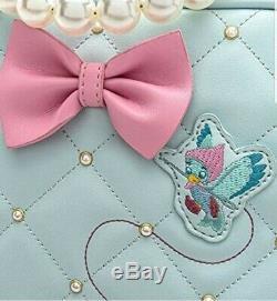 Loungefly Disney Cinderella Pearl Handle Crossbody Purse NWT