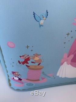 Loungefly Disney Cinderella Sewing Backpack Choice Of Cardholder OR Coin Purse