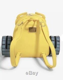 Loungefly Disney Pixar WALL-E Boot Mini Backpack and Wallet