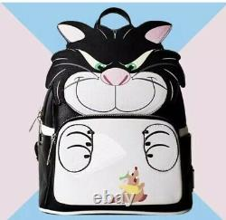 Loungefly X LASR Exclusive Disney Cinderella Lucifer Cosplay Mini Backpack LE600