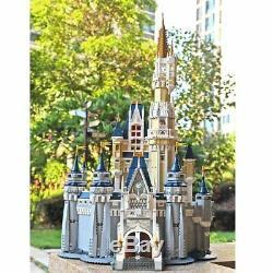 NEW 4080pcs DISNEY CASTLE Set 71040 Disney's Cinderella Castle Building Blocks
