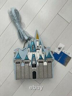 NEW Disney Parks Danielle Nicole Cinderella Castle Crossbody Bag Purse RARE Bag