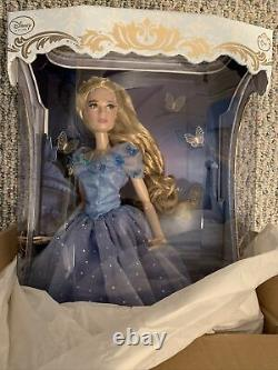 NEW Disney Store Cinderella Limited Edition Doll Live Action Film 17'' LE 4000