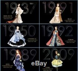 NIB Disney Designer Collection Premiere Series Doll COMPLETE SET Limited Edition