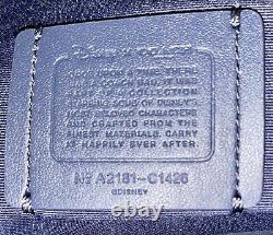 NWOT COACH X DISNEY Cinderella Signature Canvas Box Crossbody Bag #C1426