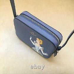 NWT Coach Disney Cinderella Mini Camera Crossbody Bag C3406 Periwinkle Multi