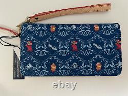 NWT Disney Cinderella Dooney & Bourke Wallet Wristlet Perfect Placement