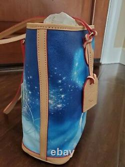 NWT Disney Dooney & Bourke Cinderella Dream Big Princess Leather Tote Purse NEW