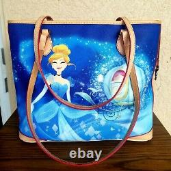 NWT Disney Dooney & Bourke Cinderella Dream Big Princess Tote Bag Lowest Price