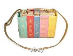 NWT Loungefly Disney Princess Books Handbag & Besame Sleeping Beauty Mirror