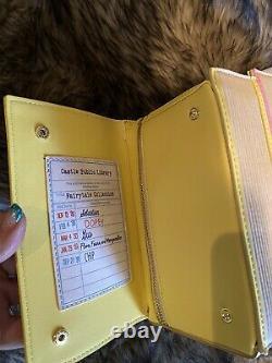 NWT Loungefly Stitch Shoppe Disney Princess Books Leather Crossbody Handbag