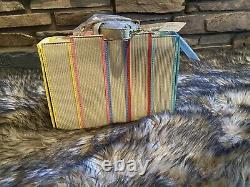 NWT Loungefly Stitch Shoppe Disney Princess Books Leather Crossbody Handbag/Pin