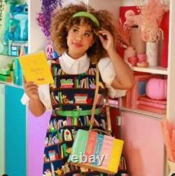 NWT Loungefly Stitch Shoppe Disney Princess Books Leather Handbag
