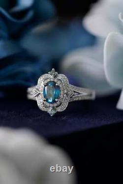 New Collector's Edition Enchanted Disney Cinderella 70th Anniversary Topaz Ring