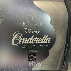 New Disney Cinderella 17 SAKS Fifth Avenue Limited Edition Doll. Display Stand