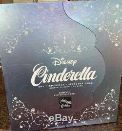 New In Box Disney 17 CINDERELLA DOLL SAKS FIFTH EXCLUSIVE LIMITED EDITION