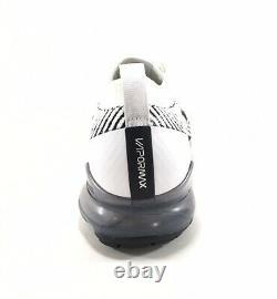 Nike Air Vapormax Flyknit 3.0 Mens 9 Running Shoes Zebra White Black AJ6900-105