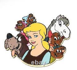RARE LE Disney Pin WDI Cinderella Jaq Gus Dog Bruno Major Horse Suzy Mice 3D