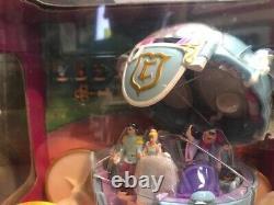 RARE NIB Polly Pocket Cinderella Royal Carriage Playset Coach Disney MUST HAVE