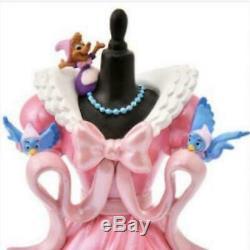 Rare! Disney Store Japan Dress Figure Cinderella 70th Anniversary Jaq Gus Bird