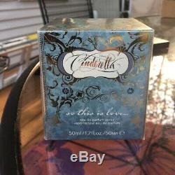 Sephora Disney Cinderella SO THIS IS LOVE Edp Spray 1.7oz 50ml SEALED MINT BOX