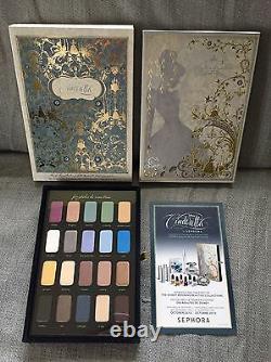 Sephora x Disney Storylook Eyeshadow Palette Vol. I-III Cinderella Jasmine Ariel
