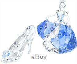 Swarovski Disney Cinderella & Slipper Very Rare 5089525 & 5035515 Bnib