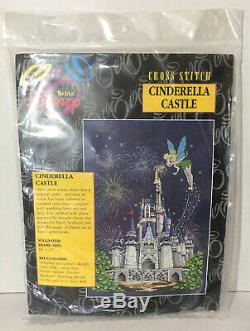 The Art Of Disney Tinker Bell Cinderella's Castle Cross Stitch Kit