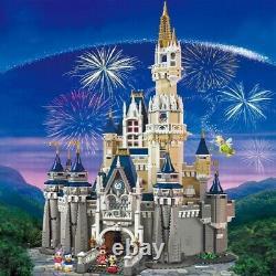 The Disney Castle Cinderella Princess City Build Bricks 4080 Pcs
