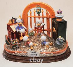 Uncle Scrooge Capodimonte Disney New Mint Laurenz Figurine C. O. A. Original Box