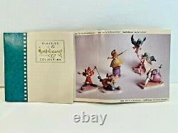 WDCC Cinderella Disney 6 Piece Collection COA, Rare! 1st Edition! MIB Sewing