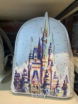 Walt Disney World 50th Anniversary Cinderella Castle Backpack by Loungefly