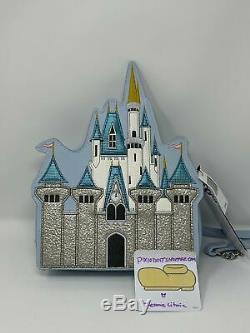 Walt Disney World Cinderella Castle Crossbody Bag Purse NWT