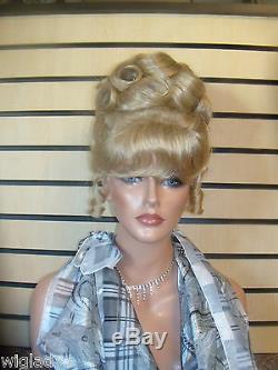 Wow Disney Updo Wig Disney Cinderella Wig Style Smooth Soft French Twist Bangs